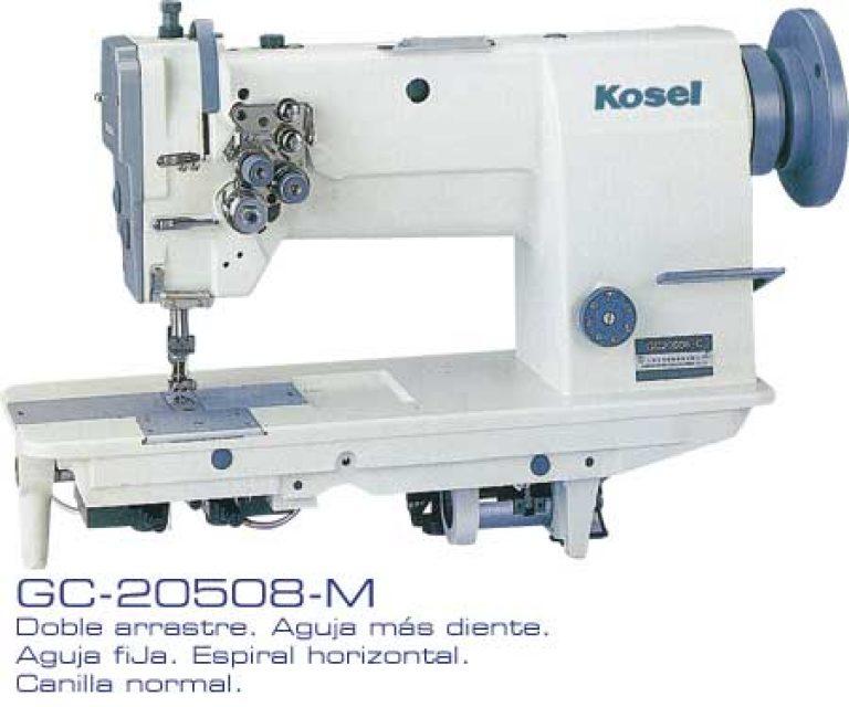 Kosel GC 20508M - máquinas de coser industriales