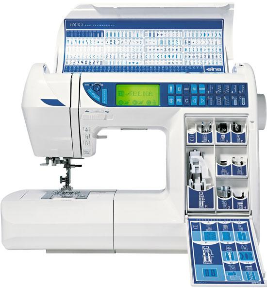 Elna 6600 - maquinas de coser