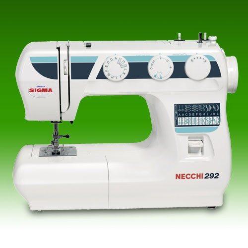 Maquinas de Coser Sigma NECCHI Mod. 292