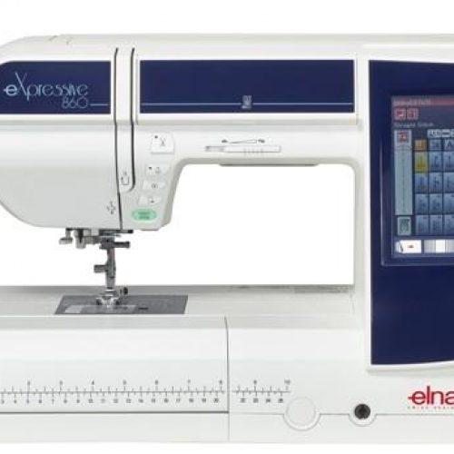 Máquina de Coser ELNA eXpressive 860