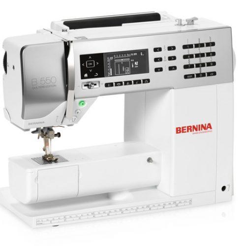 Máquina de Coser Bernina 550 QE (Incluye BSR) - Máquinas de Coser Lady's