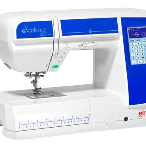 Máquinas de coser ELNA 680eX