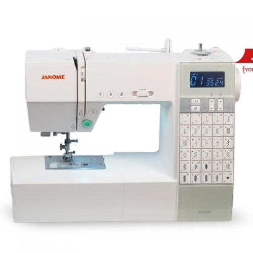Máquina de coser JANOME CD6030