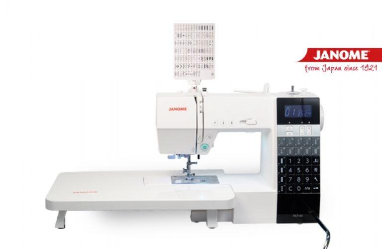 Máquina de coser JANOME DC7100