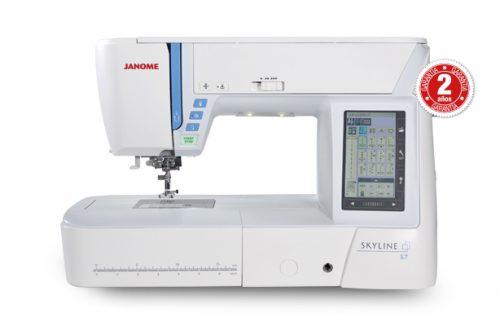 Máquina de coser JANOME Skyline S7