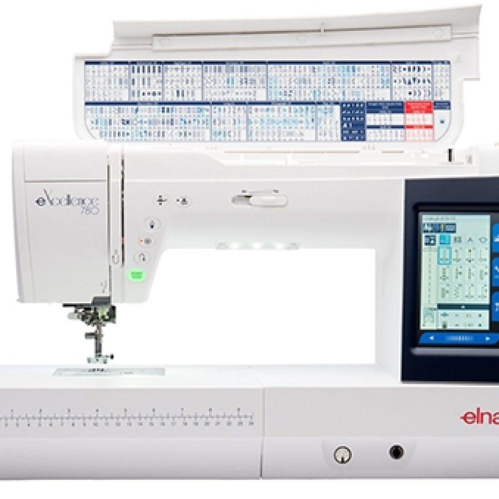 Máquina de coser ELNA eXcellence 780