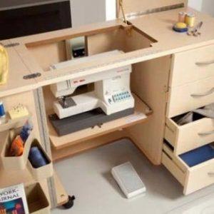 Muebles para máquinas de coser, una forma cómoda de trabajar