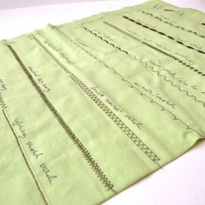 Puntadas básicas en la máquina de coser