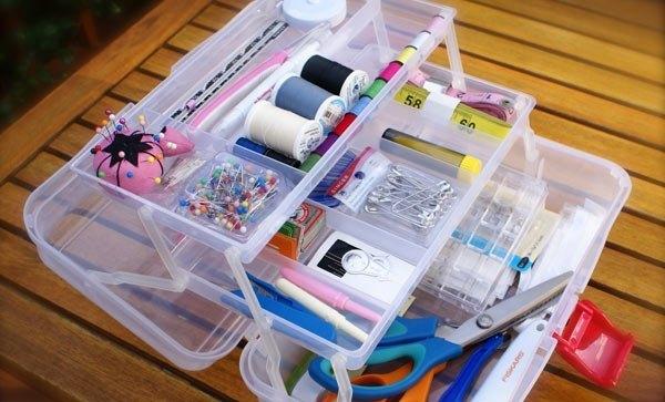 Cómo organizar un costurero