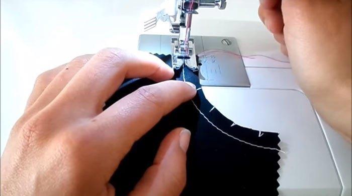 Cómo coser en curva con tu máquina de coser