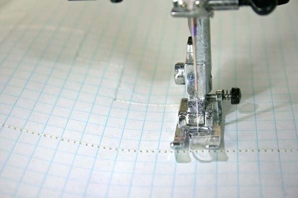 adquirir destreza con la máquina de coser