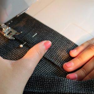 Cómo hacer un dobladillo con la máquina de coser