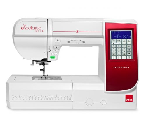 Máquina de coser ELNA eXcellence 580+